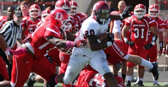 Cwu Football Suffers First Gnac Loss 29 21 At Dixie State Central