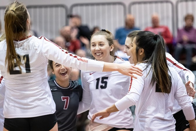 Wildcats Sit 25th in AVCA Poll