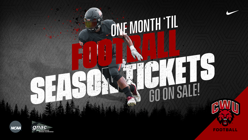 Countdown to Kickoff: 2020 Season Tickets Go On Sale in 1 Month! - Central Washington University Athletics